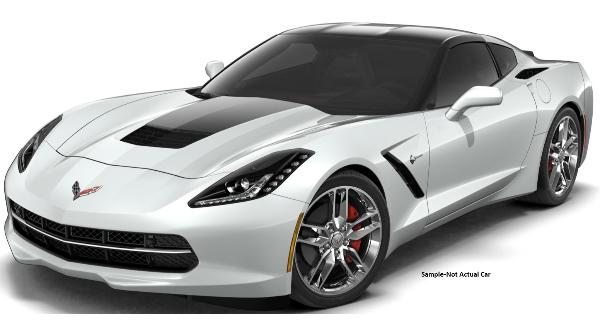 2019 Arctic White Corvette Coupe 2/7/19