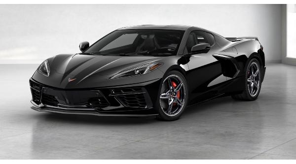 2020 Black Corvette Coupe 4/25/20