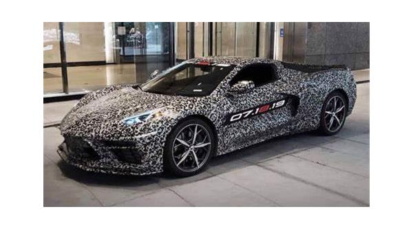 Next Generation Corvette VIN 25   8/31/19