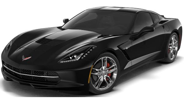 2019 Black Corvette Coupe 6/20/19