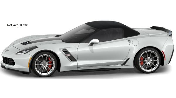 2019 Arctic White Grand Sport Convertible 7/25/19